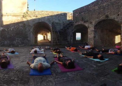 Yoga al castello